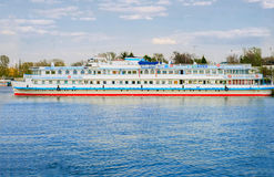 Passenger ferry ship Royalty Free Stock Photos