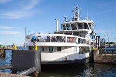 Passenger ferry Suomenlinna Sveaborg Stock Photo