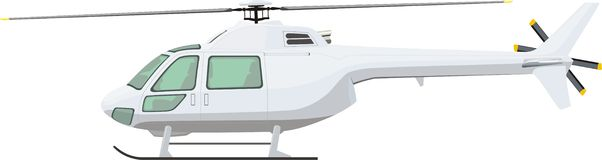 Passenger helicopter Royalty Free Stock Photography