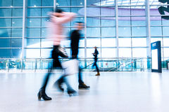 Passenger in high speed rail station Royalty Free Stock Photos