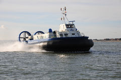 Passenger Hovercraft Royalty Free Stock Image