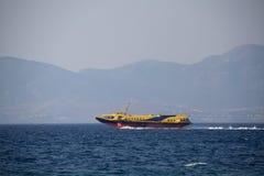 Passenger hydrofoil Stock Image