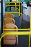 Passenger inside a bus Royalty Free Stock Photos