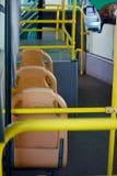 Passenger inside a bus Royalty Free Stock Photos