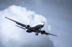 Passenger jet Stock Images