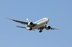 Passenger jet Stock Image