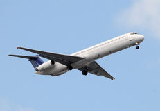 Passenger Jet Airplane Royalty Free Stock Photo