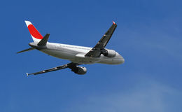 Passenger Jet Airplane Stock Image