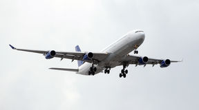 Passenger jetliner Stock Photography