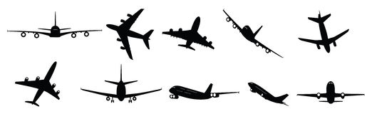 Passenger jets Royalty Free Stock Photos