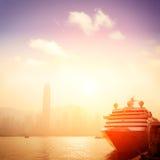 Passenger liner Stock Images
