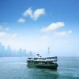 Passenger liner in hong kong Stock Images