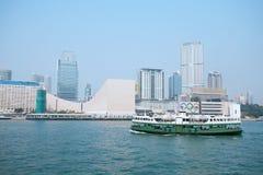 Passenger liner in hong kong Royalty Free Stock Photos