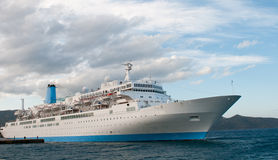 Passenger luxury Cruise ship Royalty Free Stock Photos
