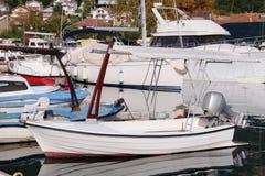 Passenger motor boat Stock Photo