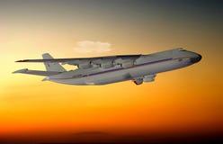 A passenger plane Royalty Free Stock Photo