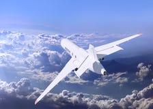 A passenger plane Stock Images