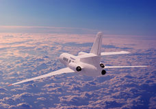 A passenger plane Royalty Free Stock Photos
