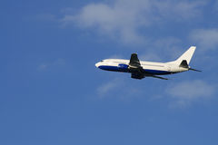Passenger plane Royalty Free Stock Photo