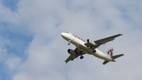 Passenger plane Airbus A320-232 Stock Photography