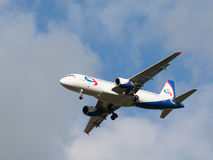 Passenger plane Airbus A320-214 Ural Airlines Royalty Free Stock Photo