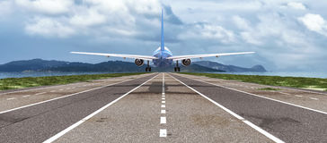Passenger plane Stock Photography