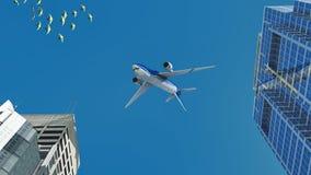Passenger plane Royalty Free Stock Photography