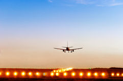 Free Passenger Plane Fly Up Royalty Free Stock Photos - 43763998