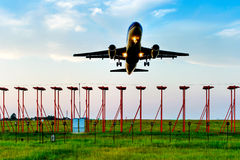 Free Passenger Plane Fly Up Stock Photo - 46508880