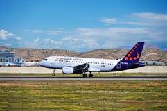 Passenger Plane Landing Royalty Free Stock Photo