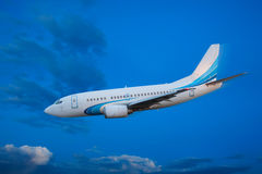 Passenger plane Royalty Free Stock Images