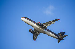 Passenger Plane In Royal Jordanian Livery. Airbus A320 Stock Photography