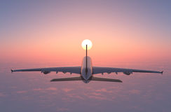 A passenger plane Royalty Free Stock Image