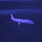 Passenger plane. Stock Photography