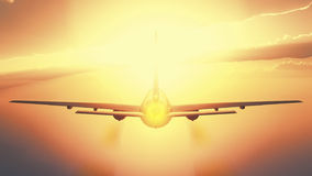 Passenger plane Royalty Free Stock Photo