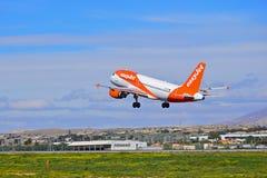 Passenger Plane Taking Off Stock Photo