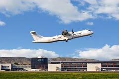 Passenger Plane Taking Off Royalty Free Stock Photos