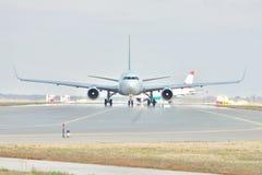 Passenger planes Royalty Free Stock Image
