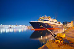 Passenger port in Athens. stock image