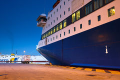 Passenger port in Athens. Stock Images
