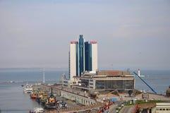 Passenger port. Odessa . Ukraine. royalty free stock photos