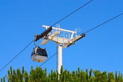 Passenger ropeway Royalty Free Stock Images