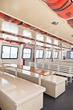Passenger's Recreational Ship Interior Royalty Free Stock Photo