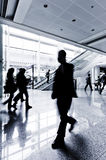 Passenger in the Shanghai Airport Stock Images