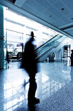 Passenger in the Shanghai Airport Stock Photo