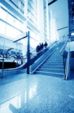 Passenger in the shanghai pudong airport. Interior of the airport royalty free stock image