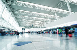 Passenger in the shanghai pudong airport Royalty Free Stock Photography
