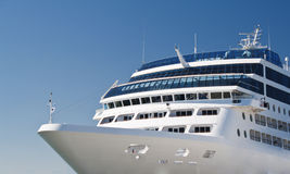 Passenger-ship. Luxury and comfort for the passengers Stock Photos