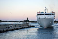 Passenger ship Royalty Free Stock Photos