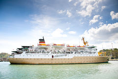 Passenger ship Royalty Free Stock Image